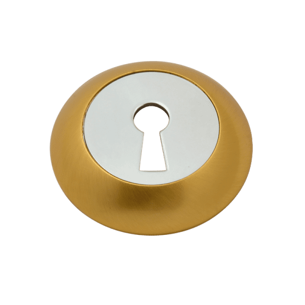 Накладка дверная модель НБ-А (Матовое золото)