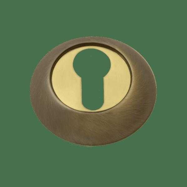 Накладка дверная модель НК-A Clásico (Матовая бронза)