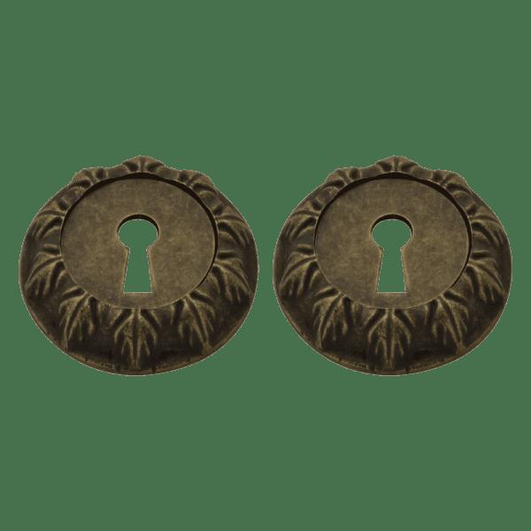 Дверная накладка модель ГРАСИОЗА НБ (Застаренная бронза)