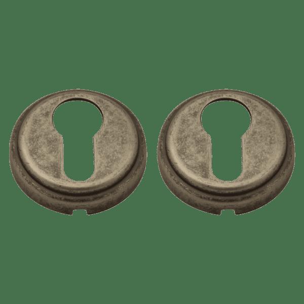 Дверная накладка модель НК (J) (Застаренное серебро)