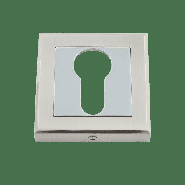 Накладка дверная модель НК-К Clásico (Матовый хром)