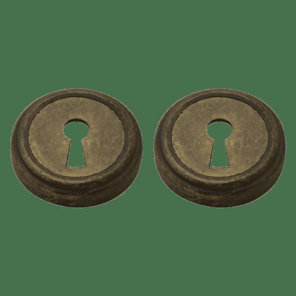 Дверная накладка модель НБ (J) (Застаренная бронза)
