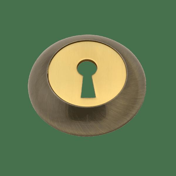 Накладка дверная модель НБ-А (Старая бронза)