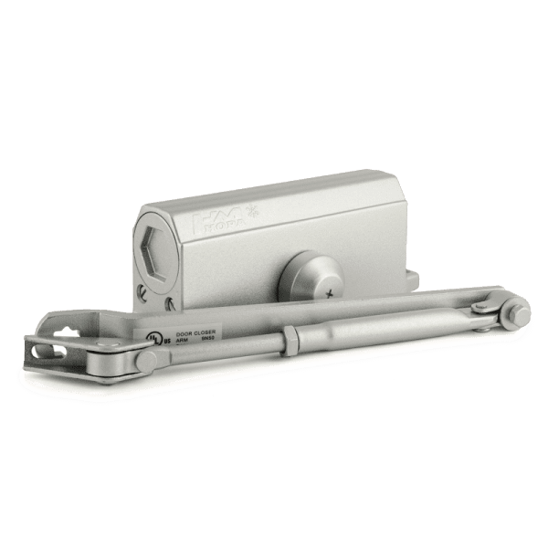 Доводчик дверной модель 3S мал. (Серебро)