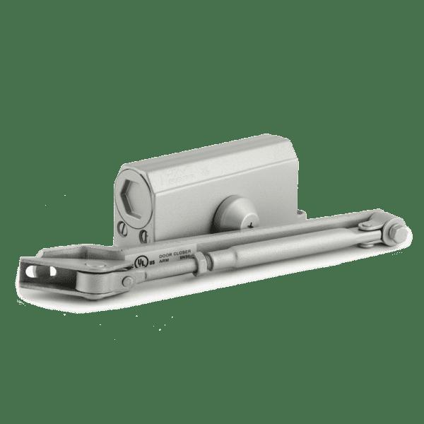Доводчик с фиксацией модель 2S-F (Серый)