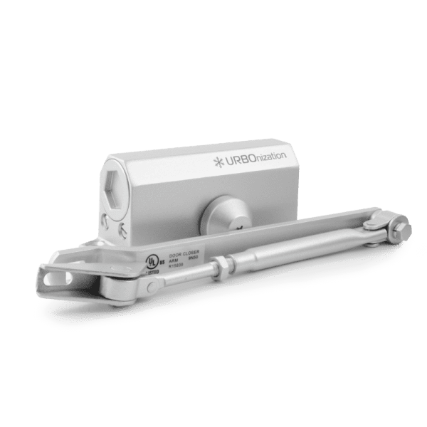 Дверной доводчик модель 510 URBOnization (Серебро)