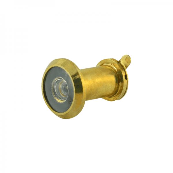 Дверной глазок со шторкой модель №6 /14/180/25-42 (Золото)