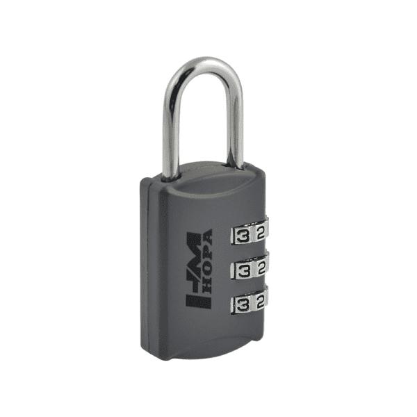 Навесной кодовый замок модель 502 (Серый)