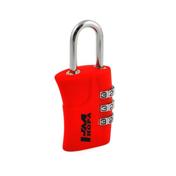 Навесной кодовый замок модель 505 (Красный)