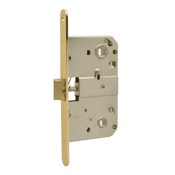 Корпус замка под фиксатор модель М13-90 мм (Золото)