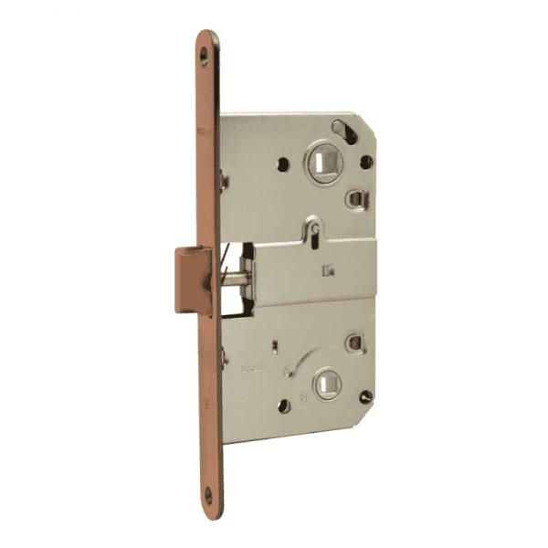 Корпус замка под фиксатор модель М13-90 мм (Старая медь)