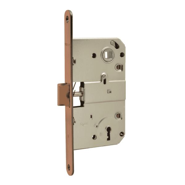 Корпус замка с сувальдным ключом модель M15-90 мм (Старая медь)