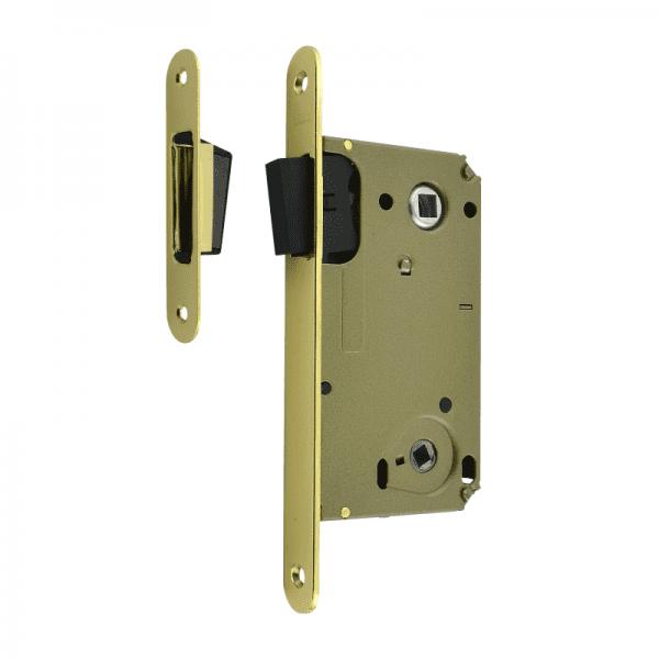 Корпус замка под фиксатор магнитный модель 13М-90 мм (Золото)