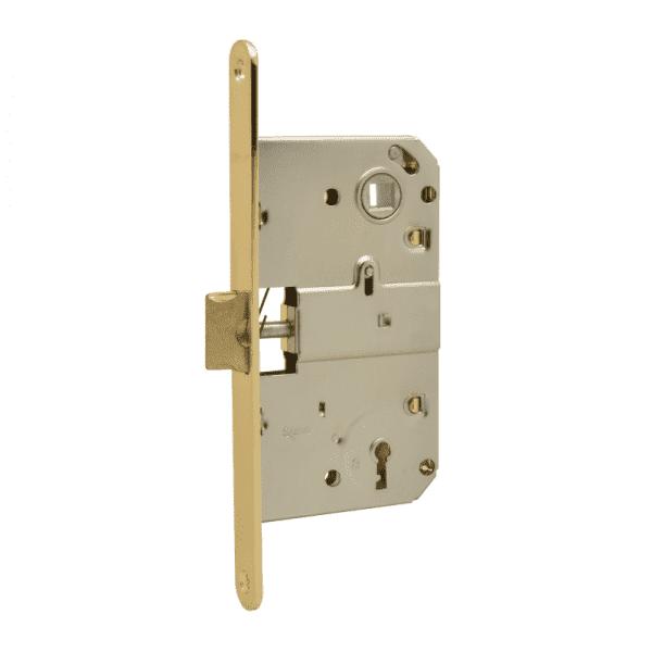 Корпус замка с сувальдным ключом модель M15-90 мм (Золото)