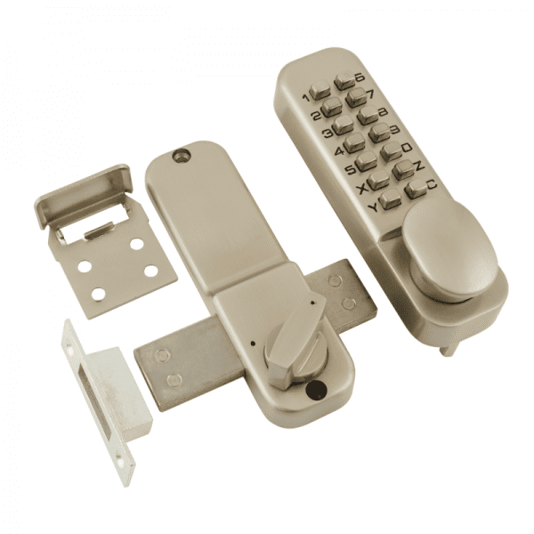Кодовый замок модель 250 (Матовый никель)