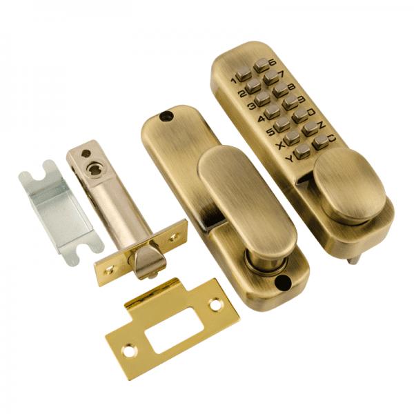 Кодовый замок модель 200 (Старая бронза)