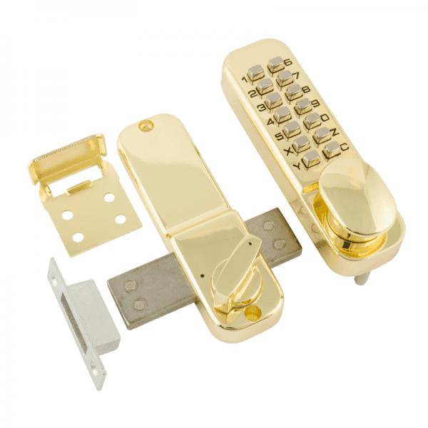 Кодовый замок модель 250 (Золото)
