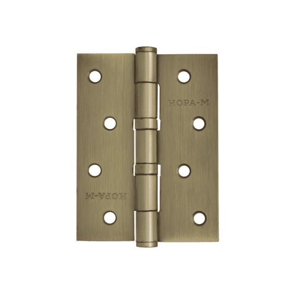 """Петля универсальная модель 4""""-2ВВ (100*75*2,5) без колп. (Матовое бронзовое покрытие)"""