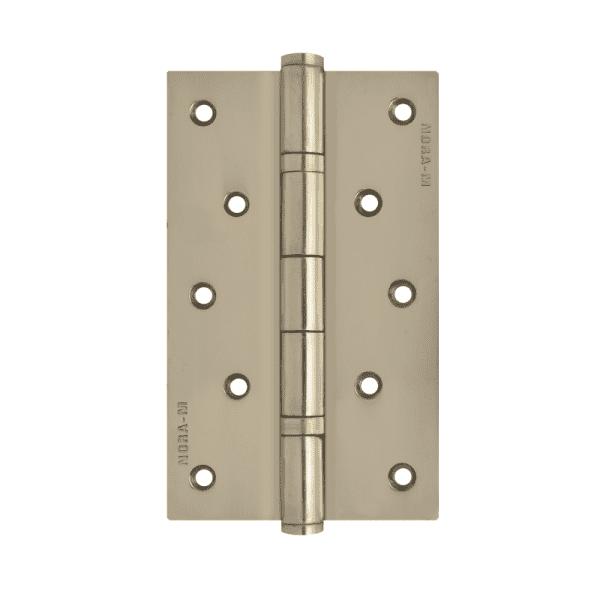 """Петля универсальная модель 5""""-2ВВ (125*75*2,5) без колп. (Хромовое покрытие)"""