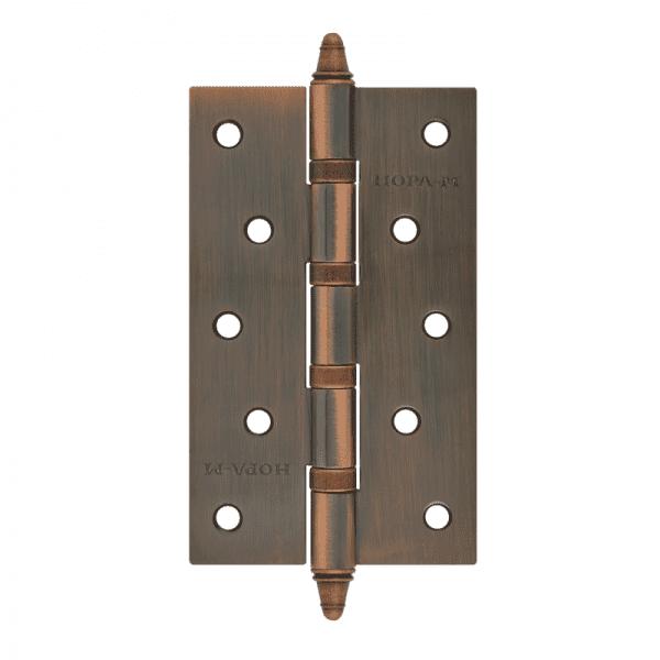 """Петля универсальная модель 5""""-4ВВ (125*75*2,5) с колп. (Медное покрытие)"""