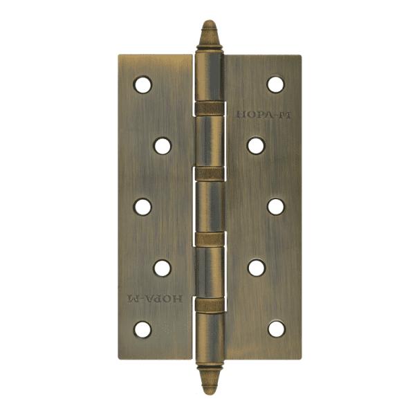 """Петля универсальная модель 5""""-4ВВ (125*75*2,5) с колп. (Бронзовое покрытие)"""