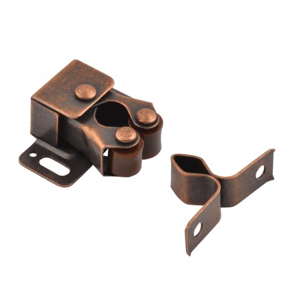 Роликовая защелка модель №2 (Старая медь)