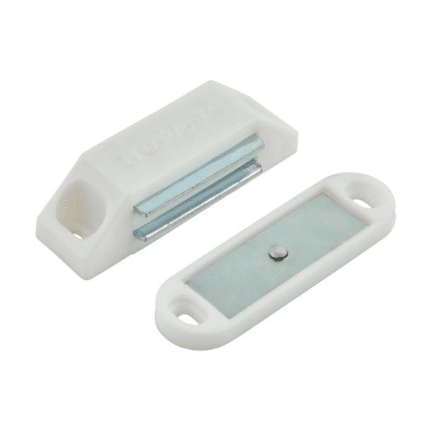 Магнитные защелка модель №1 (Белый)