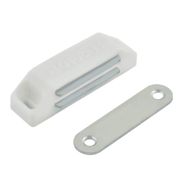 Магнитные защелка модель №2 (Белый)