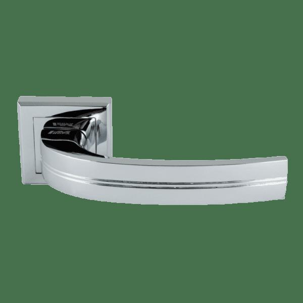 Ручка дверная модель 106 К Al (Хром)