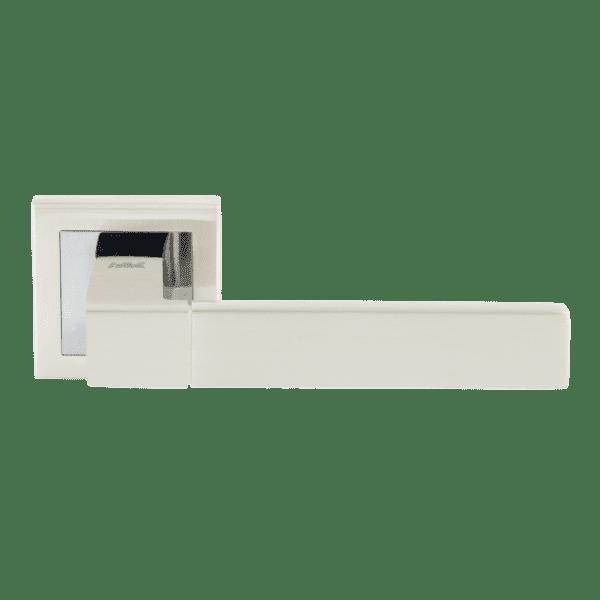 Ручка дверная модель 109 К Al (Белый жемчуг)
