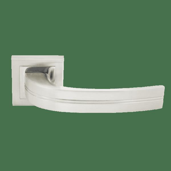 Ручка дверная модель 106 К Al (Белый жемчуг)