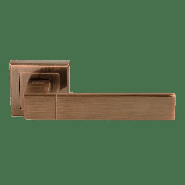 Ручка дверная модель 109 К Al (Старая медь)