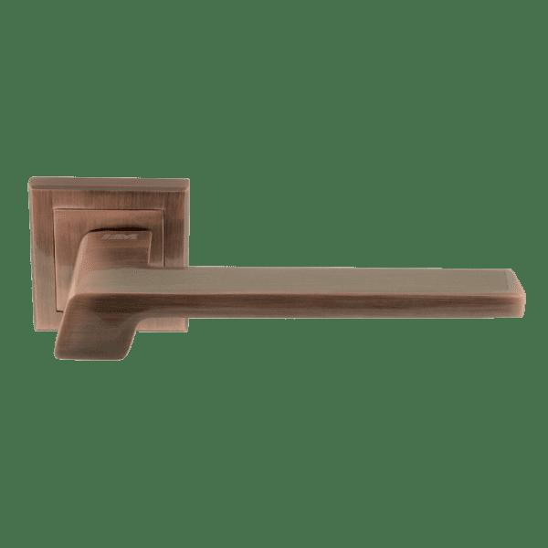 Ручка дверная модель 111 K Al (Старая медь)