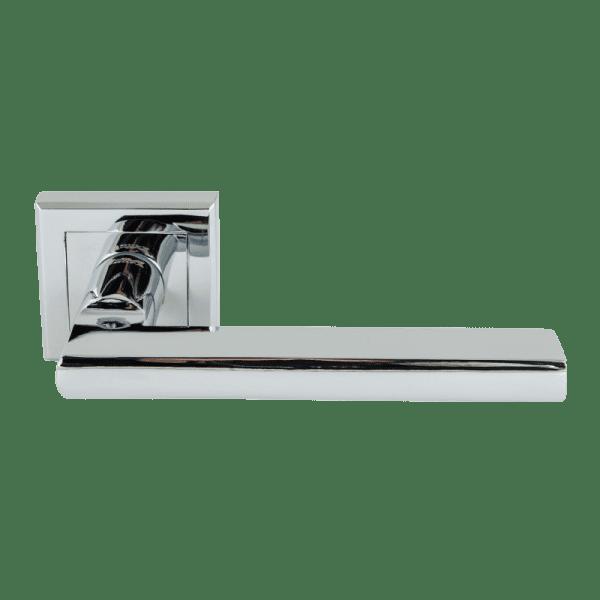 Ручка дверная модель 108 K Al (Хром)