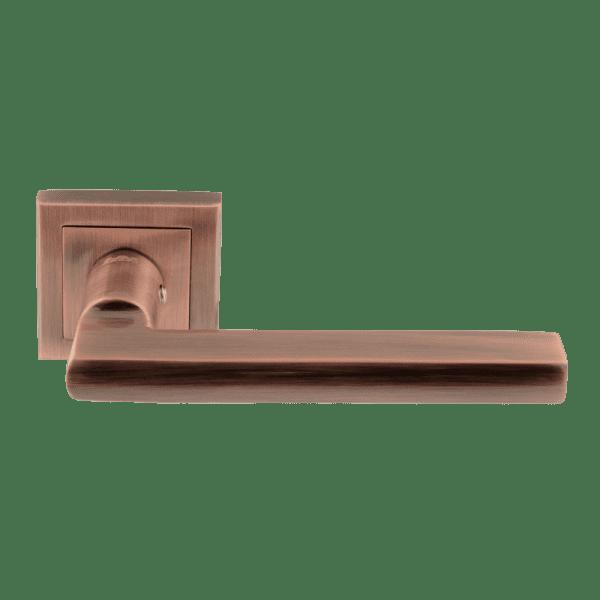 Ручка дверная модель 108 K Al (Старая медь)