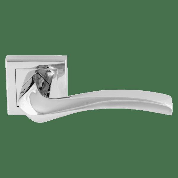 Ручка дверная модель 112К AL (Хром)