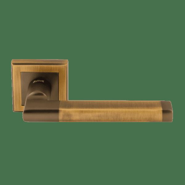 Ручка дверная модель 108 K Al (Матовый кофе)