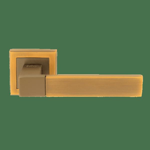 Ручка дверная модель 109 К Al (Матовый кофе)