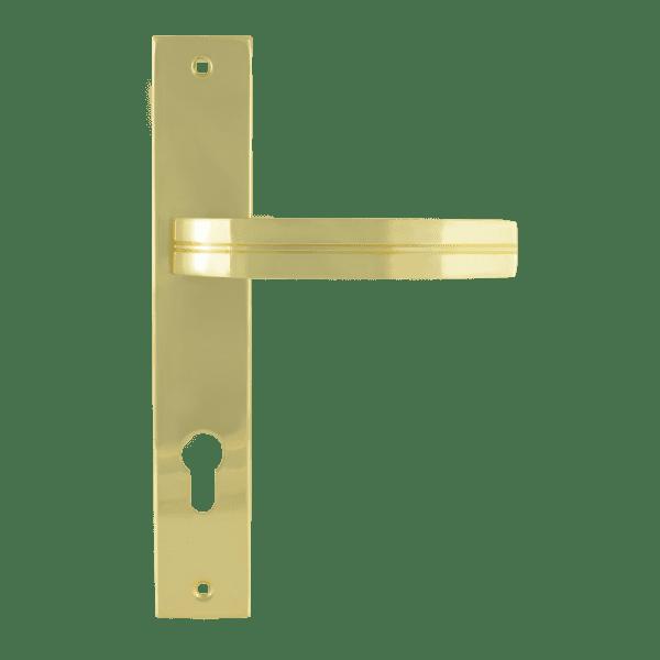 Ручка на планке модель 106-85 мм (Золото)
