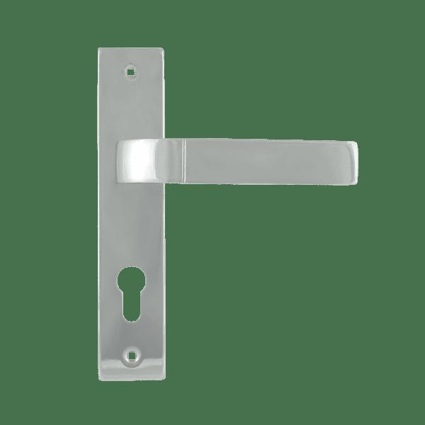 Ручка на планке модель 107-70 мм (Хром)