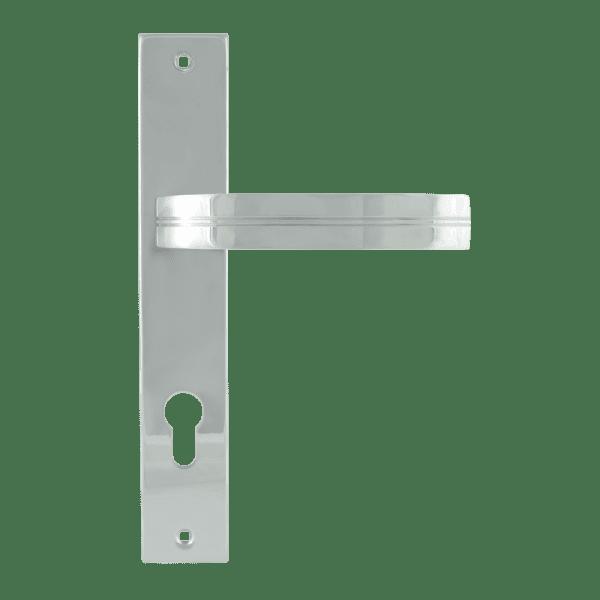 Ручка на планке модель 106-85 мм (Хром)