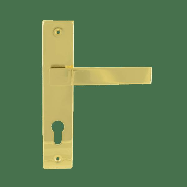 Ручка на планке модель 109-70 мм (Золото)
