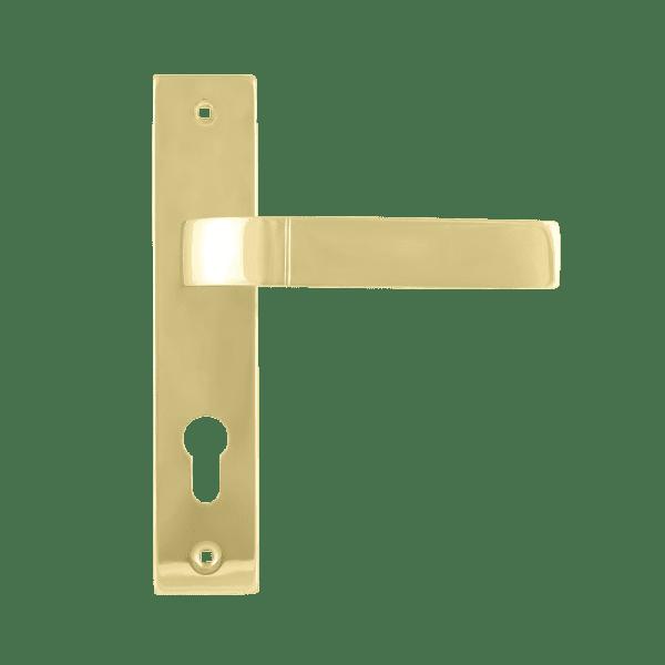Ручка на планке модель 107-70 мм (Золото)