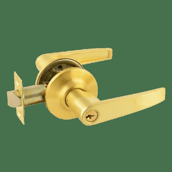 Ручка-защелка модель ЗП (Матовое золото)