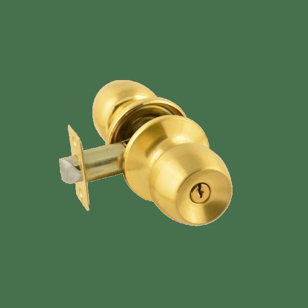 Ручка-защелка модель ЗР1 (Матовое золото)