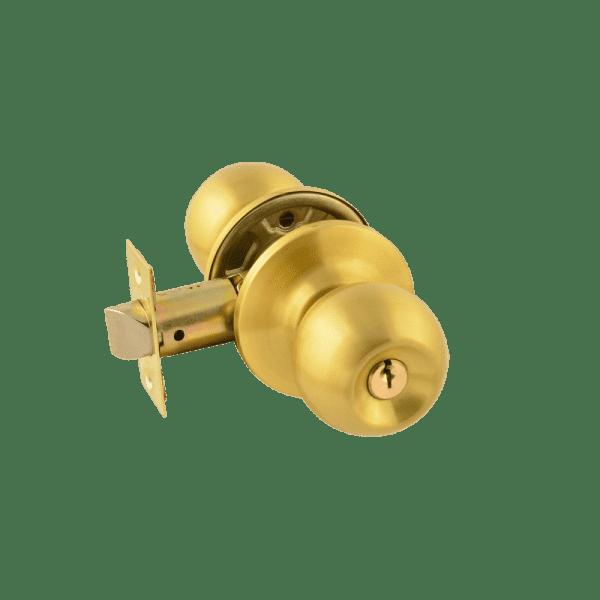 Ручка-защелка модель ЗШ (Матовое золото)