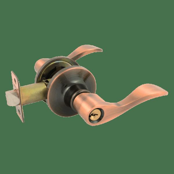Ручка-защелка модель ЗВ1-Э (Старая медь)