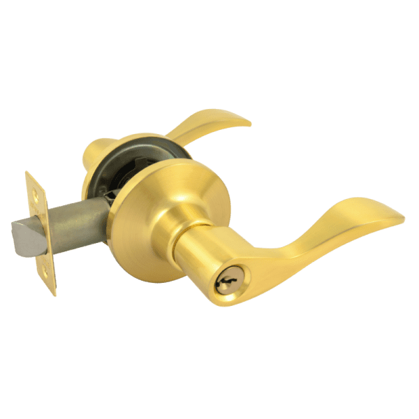 Ручка-защелка модель ЗВ1-Э (Матовое золото)