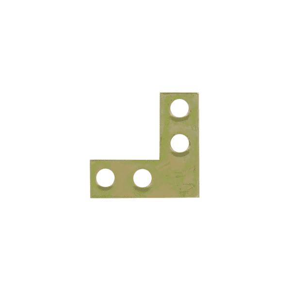 С прямыми углами модель Уголок плоский №1 (Цинк)