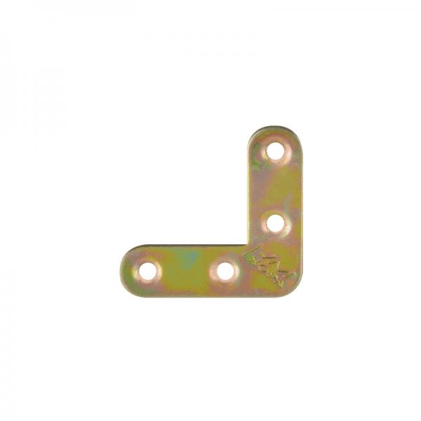 С закругленными углами модель Уголок плоский №2 (Цинк)